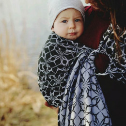 Little Frog Ring Sling - Carbon Edelweiss