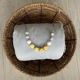 Love And Carry Lemonade Collier de portage en silicone alimentaire