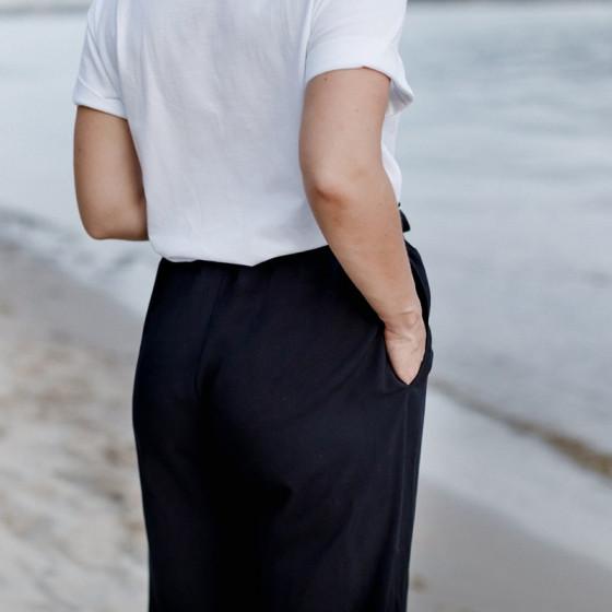 Love And Carry Pantalon fluide de grossesse taille haute