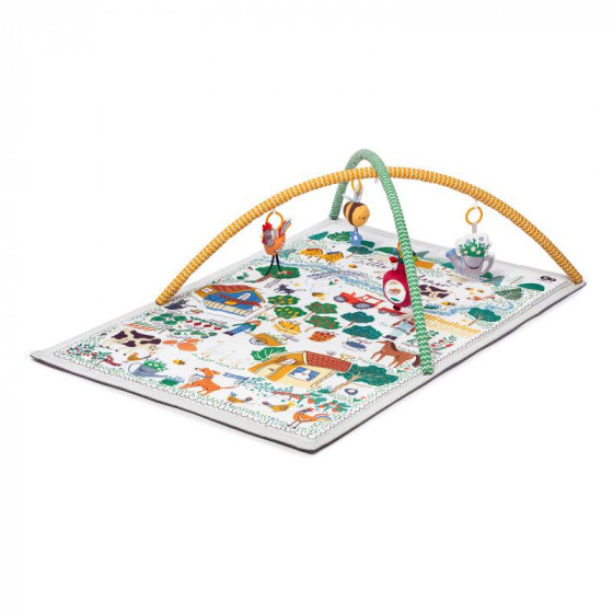 Kinderkraft Little Gardener - Tapis d'éveil éducatif 3 en 1
