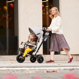 Kinderkraft AVEO Tricycle Evolutif Enfant 6 en1 Grey