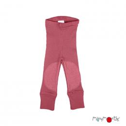 ManyMonths Longies Legging en laine avec patchs genoux