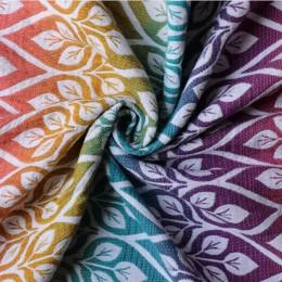 Yaro Slings La Vita Trinity Caribbean Rainbow Tencel Linen - Ring Sling