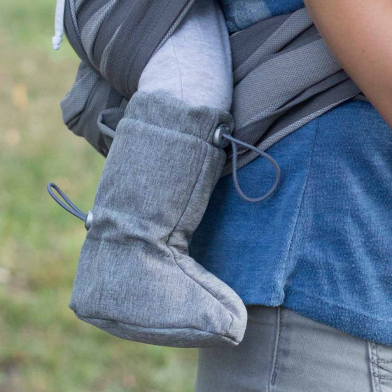 Naturioù chaussons de portage Softshell Grey Melange
