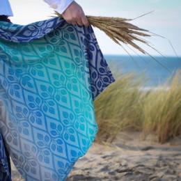 Yaro Slings La Vita Aqua Grad Natural Kapok - Écharpe de portage tissée