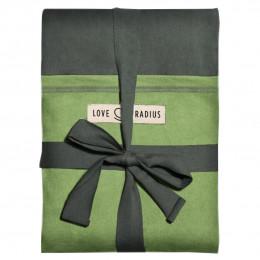 The original JPMBB Baby Wrap Grey-green, pocket Pistachio