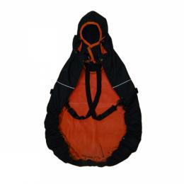 MaM All-Season Combo FleX Black Rooibos Red - couverture de portage 3 en 1