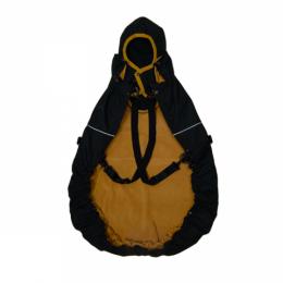 MaM All-Season Combo FleX Black Cinnamon - couverture de portage 3 en 1