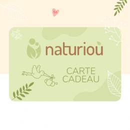 Carte cadeau Naturiou