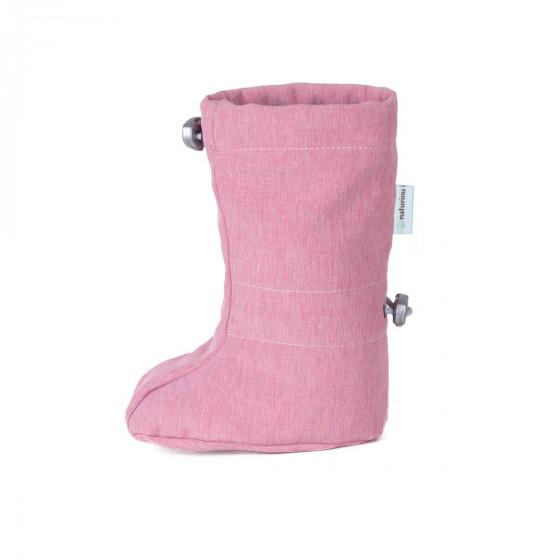 Naturioù slippers portage Softshell Dust Pink