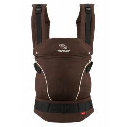 Manduca Baby carrier Pure Cotton Coffee Brown
