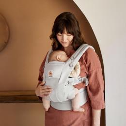 Ergobaby Omni Dream Pearl Grey, porte-bébé