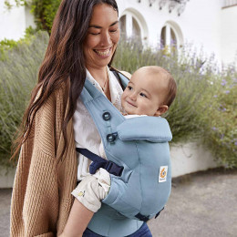 Ergobaby Adapt SoftTouch™ Cotton Slate Blue