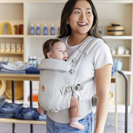 Ergobaby Adapt SoftTouch™ Cotton Pearl Grey
