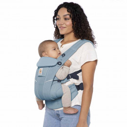 Ergobaby Omni Breeze Slate Blue, porte-bébé