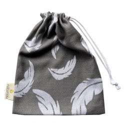 Naturioù small bag Feather