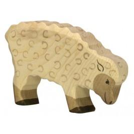 Mouton mangeant Holztiger