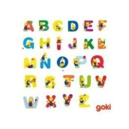 Wooden letter goki