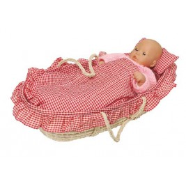 moses basket for doll