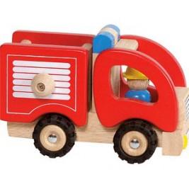 Fire truck wood by Goki