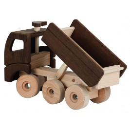 Large dump truck wooden Goki Nature