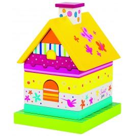 Maison en bois à empiler Susibelle
