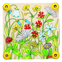 Press-flower Meadow in the wood by Goki