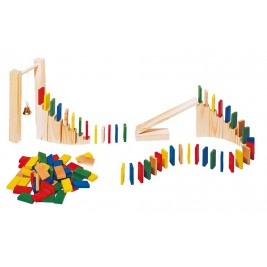 Rally dominoes Toys pure 250 pieces