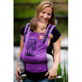 Baby carrier TULA Toddler Hummingbirds purple