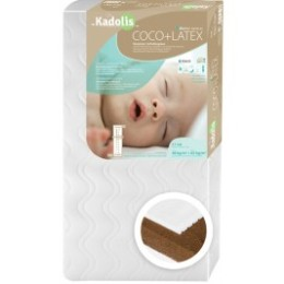 Mattress, Baby Coconut Latex 60x120 cm Kadolis