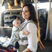 poorte-bébé physiologique Ergobaby Adapt gris assise étroite