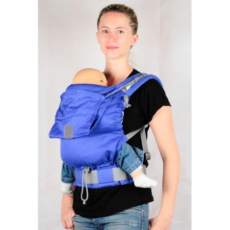 porte-bébé physiologique P4 LLA Bleu Klein