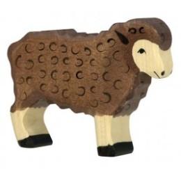 Mouton noir en bois Holztiger