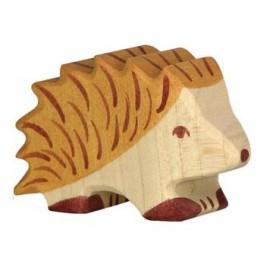 Hérisson en bois Holztiger