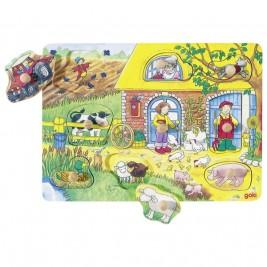 Puzzle avec images cachées la ferme Goki