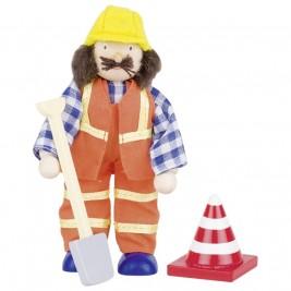 Doll flexible wood Goki - Worker III