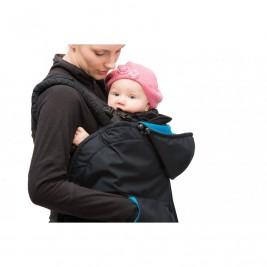 Mamalila couverture de portage Evolutive Softshell Petrol