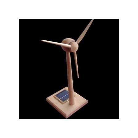 eolienne solaire en bois écologique heliobil