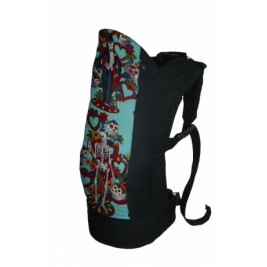 Rose and Rebellion Pre-School Baby carrier Skeletmans