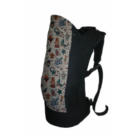 Rose and Rebellion Pre-School Baby carrier Rockabilly