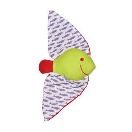 Doudou just you Max the Batfish in organic cotton