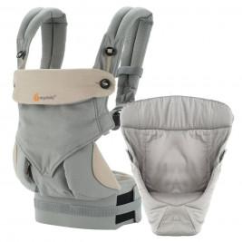Ergobaby Pack Évolutif 360 Gris - Porte-bébé 4 Positions