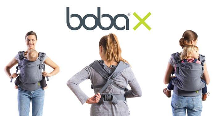 Boba X : Porte-bébé évolutif et facile à régler