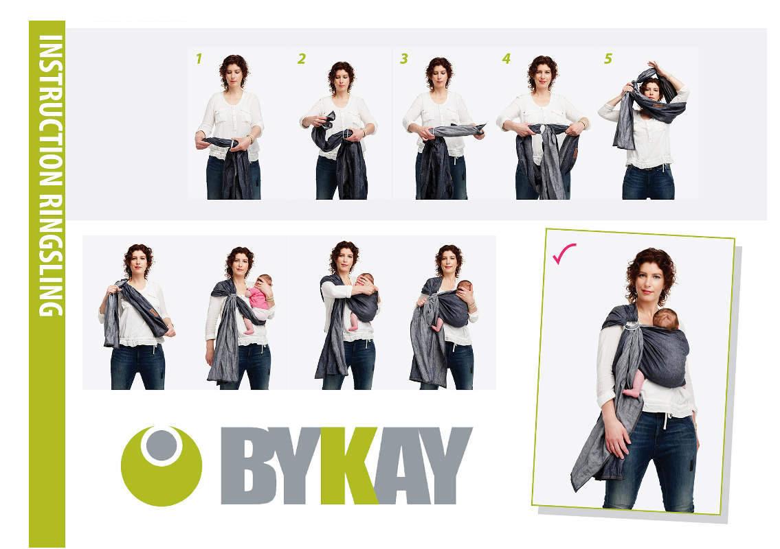 Notice d'utilisation du Ringsling de bykay