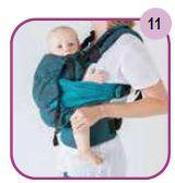 Etape 11 - Installation portage ventral Easy Emeibaby Babysize