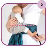 Etape 5 - Installation portage ventral Easy Emeibaby Babysize