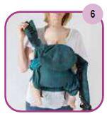 Etape 6 - Installation portage ventral Easy Emeibaby Babysize