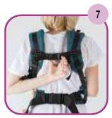 Etape 7 - Installation portage ventral Easy Emeibaby Babysize
