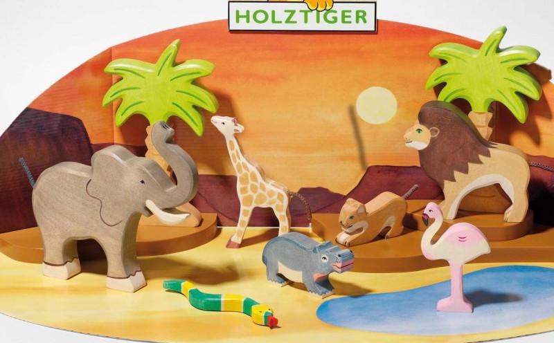 Holztiger animals