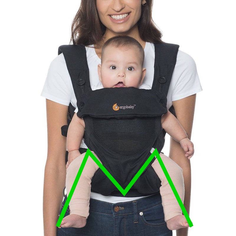 Ergobaby 360 Cool Air Mesh Noir Onyx